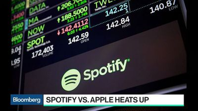 Bloomberg Technology - Apple Fires Back at Spotify's Antitrust Complaint