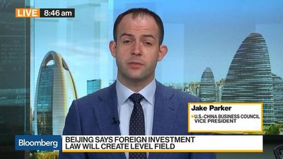 Bloomberg Daybreak: Australia - Beijing's New Investment Law Contains Positive Aspects , U.S.-China Business Council Says