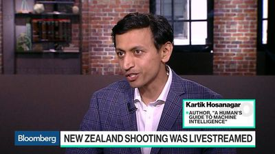 Bloomberg Technology - Live Video Proving to Be Problematic for Social Media, Author Hosanagar Says