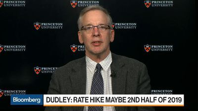 Fed Tightening Might Be 'Back in Play' Later This Year, Ex-NY Fed President Dudley Says