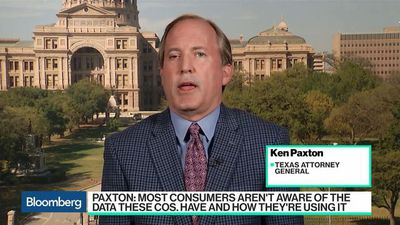 Bloomberg Technology - Texas AG Paxton Says He's Looking Into 'Broad Range of Companies' That Control Tech