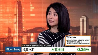 UBS's Hu Sees Room for Chinese Equities to Rise