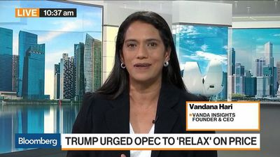 Bloomberg Markets: Asia - $60 a 'Reasonable Floor' for Oil, Vanda Insights Says