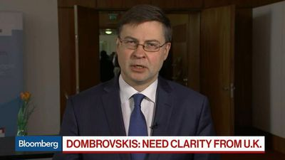 Bloomberg Surveillance - Dombrovskis Says EU Needs Reason for Possible Brexit Delay