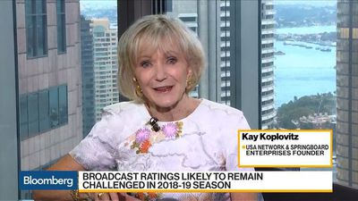 Bloomberg Daybreak: Australia - Streaming Is Taking Big Position in Media Landscape, Koplovitz Says