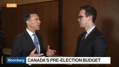 Bloomberg Daybreak: Australia - Canadian Finance Minister Morneau on Budget, Economy, Trade