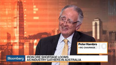 Bloomberg Markets: Asia - IRC Chairman Peter Hambro Says Iron Ore May Reach $100