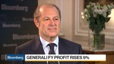 Bloomberg Daybreak: Europe - We Want to Grow Significantly in Asset Management, Says Generali CEO