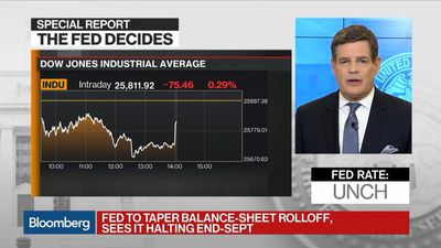 Bloomberg Markets - Fed Sees No Rate Hikes in 2019, Plans End to Balance Sheet Drawdown in September