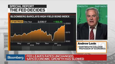 Bloomberg Markets - Markets Have to Understand the Fed Is Not on Hold, Dartmouth's Levin Says