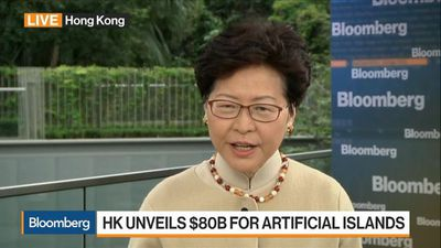 Hong Kong Chief Executive Lam on Trade, Artificial Islands, Property Market, Autonomy