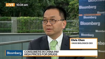 Bloomberg Markets: Asia - WuXi Biologics CEO Says China to Be Next Frontier for Industry