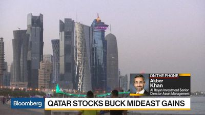 Qatar Stocks Buck Mideast Gains