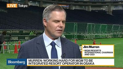 Working Hard for MGM to Be Integrated Resort Operator in Osaka, Says CEO