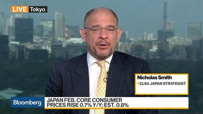 Bloomberg Daybreak: Asia - Japan Economy Has About All the Help From the BOJ it Can Handle, Says CLAS's Smith