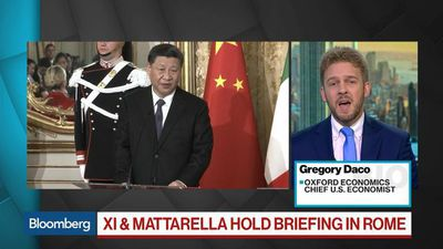 Bloomberg Surveillance - U.S.-China Tension Impedes a Comprehensive Trade Deal, Economist Says