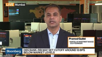 Bloomberg Markets: Asia - India Bond Yields Should Be Trending Down Going Forward, Says Marcellus's Gubbi