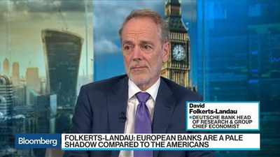 Bloomberg Surveillance - Europe's Banks Are in `Dire Straits,' Folkerts-Landau Says
