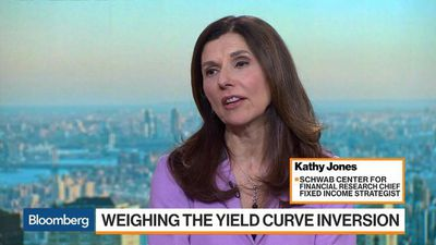 Bloomberg Markets - Yield Curve Inversion Signaling Fed Rate Cut, Schwab's Jones Says