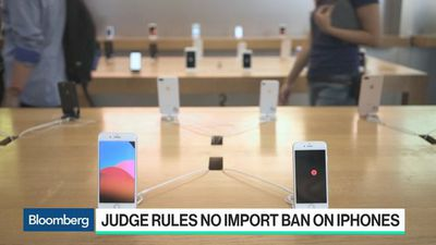 Bloomberg Technology - Apple Escapes Import Ban in Second Qualcomm Case