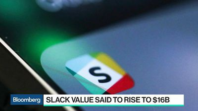 Bloomberg Technology - Slack Value Said to Rise to $1B in Pre-Listing Deals