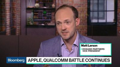 Bloomberg Technology - Apple, Qualcomm Battle Continues in U.S. Federal Court