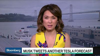 Bloomberg Technology - Musk Tweets Out Another Tesla Production Forecast