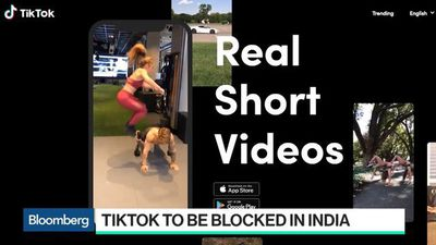 Bloomberg Technology - Google, Apple Said to Block New Downloads of TikTok in India