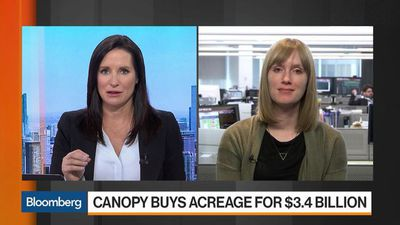 Bloomberg Markets - Canopy Banks on U.S. Pot Legalization With Acreage Acquisition