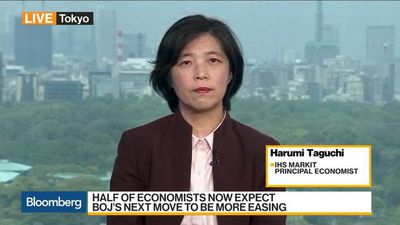Bloomberg Daybreak: Asia - BOJ Unlikely to Ease Policy This Week, IHS Markit's Taguchi Says