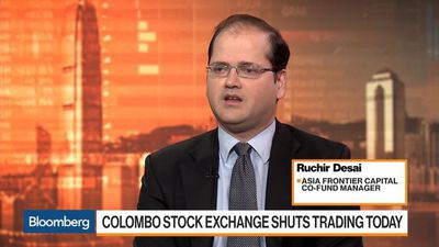 Bloomberg Markets: Asia - Bombings to Have Negative Impact on Sri Lanka's Tourism Industry, Desai Says