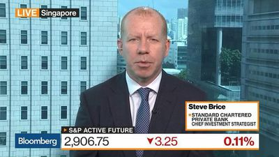 Bloomberg Markets: Asia - Stocks May Face Temporal Weakness, StanChart PB's Brice Says