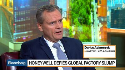 Bloomberg Markets - Honeywell CEO Adamczyk on Sales, Growth, M&A