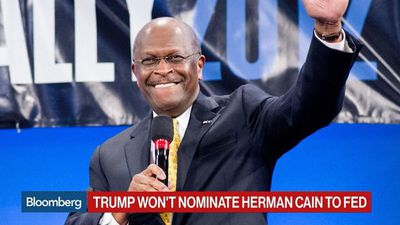 Trump Won't Nominate Herman Cain to Fed