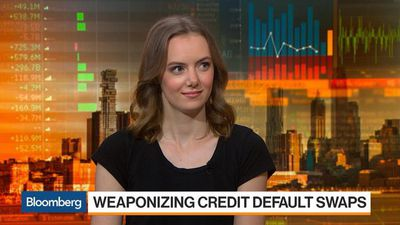 Bloomberg Markets - Hedge Funds Investing in Credit-Default Swaps Pressure Companies to Default