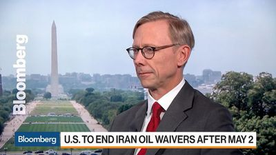 Iran Sanctions Haven't Hurt Oil Market, Special Rep. Hook Says