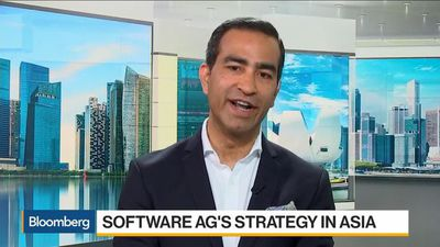 Bloomberg Daybreak: Asia - Software AG CEO Sees Asia as 'Very Significant Geography'