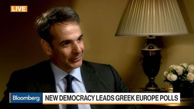 Bloomberg Markets: European Open - Greece's New Democracy Party President on Campaign, Tax Cut, Bond issuance, Economy