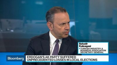 Bloomberg Surveillance - Turkey Should Focus on 'Desperately Needed' Reform Agenda: Kaleagasi