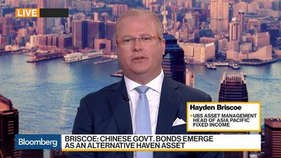 Bloomberg Daybreak: Asia - China Government Bonds Becoming a Safe Heaven Asset, UBS AM's Briscoe Says