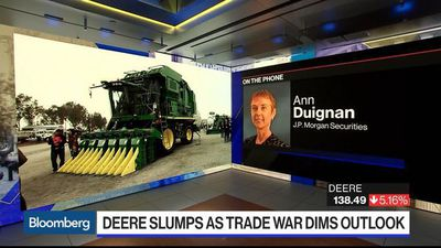 Deere No Longer 'Cautiously Optimistic' as 2Q Earnings Miss Estimates