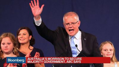 Australia's Morrison to Secure Majority Government, ABC Says