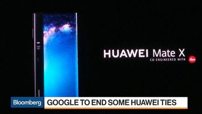 Google to End Some Huawei Ties