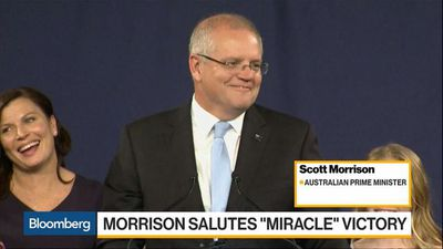 Australia PM Morrison Delivers 'Miracle' Victory in National Election