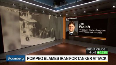 We Should Assume Iran Is Responsible for Attacks on Oil Tankers, Says Jim Walsh