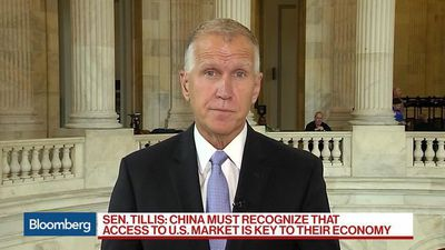 Sen. Tillis Says Fed Made Mistake in December, Defers to Trump on Powell Demotion