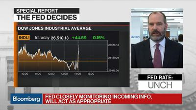FOMC Came as Close as They Could Come to Cutting, Barclays' Gapen Says