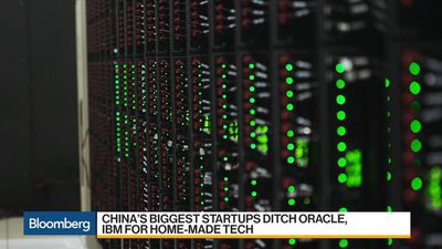 China's Biggest Startups Ditch Oracle, IBM