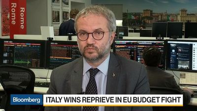 Italy's 2019 Budget Deficit to Be Close to 2%, Borghi Says
