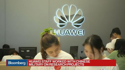 Huawei Staff Worked With China Military on Research Projects